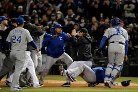 yordano ventura at center of another royals brawl this time with