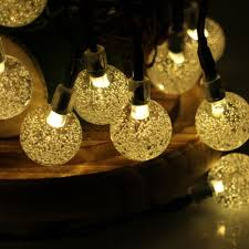 Decorative Patio String Lights by Aliexpress Com Buy 30led 6m Waterproof Decorative Crystal Ball