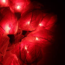 Rose Lights String by Red Rose Flower Floral Handmade 3d String Lights For Decoration