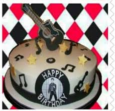 black and white elvis birthday cake elvisblog