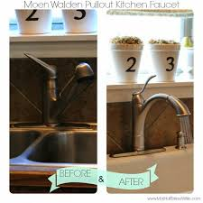 moen walden kitchen faucet install review and a moen giveaway