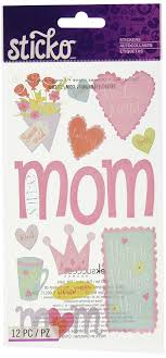 mothers day stickers sticko happy s day stickers