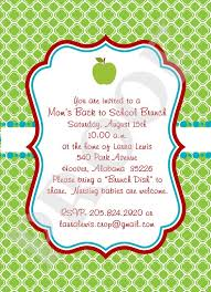 brunch invitations 2960 back to school brunch invitation poppyseed paper