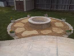 Concrete Fire Pits by Foundation Builders Llc Cincinnati Oh