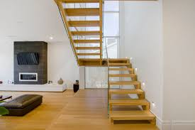 Free Standing Stairs Design Free Standing Stair With Mitred Strings And Treads