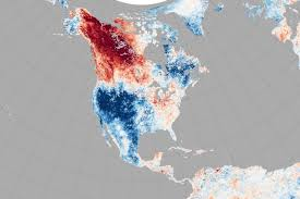Alaska Temperature Map by Baked Alaska Image Of The Day