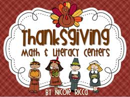 mrs ricca s kindergarten thanksgiving math literacy centers