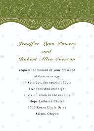 Wedding Invitations With Rsvp Cards Included Vintage Olive Green Pocket Wedding Invitations With Free Rsvp