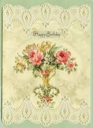 flowers and lace birthday card by carol u0027s rose garden at kann
