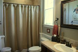 bathroom ideas with shower curtain beautiful budget friendly burlap ideas cedar hill farmhouse