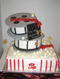grooms cake movies may be a better theme since you u0027re both going