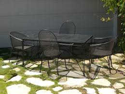 Mid Century Modern Patio Chairs Furniture Exciting Outdoor Dining Room With Mid Century Black