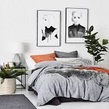 Wash Duvet Cover Home Republic Vintage Washed Quilt Cover Indigo Bedroom