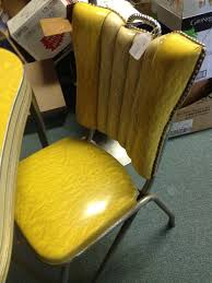 Yellow Retro Kitchen Chairs - 404 best dinette sets images on pinterest retro kitchens