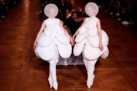 a unicorn makes its runway debut at the thom browne spring 2018