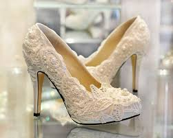 wedding white shoes white lace wedding shoes shoes and