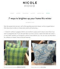 how to be an interior designer cushions to brighten up your home this winter according to
