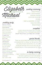 layout of wedding ceremony program wedding program wedding reception wedding thank you printable