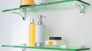 Glass Shelves Bathroom Terrific Decorative Glass Shelves Bathroom Home Remodel Ideas