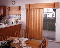 home accecories kitchen window treatment ideas for sliding glass