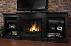 living room awesome tv stand with built in electric fireplace