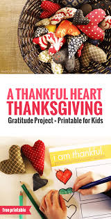 a thankful heart u2014 a thanksgiving activity for kids
