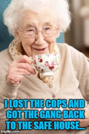 old lady drinking tea latest memes imgflip