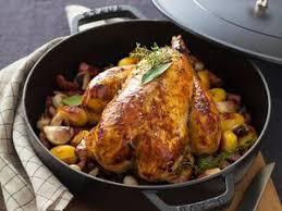 cuisiner un poulet entier poulet rôti facile recette sur cuisine actuelle