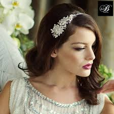 bridal headband bridal headband by lola and