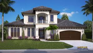 mediterranean house plan 2 story coastal home stock floor plan