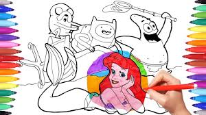 patrick star coloring pages awesome squidward and patrick star