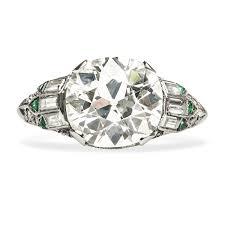 mine cut engagement ring unique mine cut wedding ring mansfield