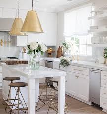 Small White Kitchen Designs White And Gold Kitchen Meriton Loft Apartment Inspo Pinterest