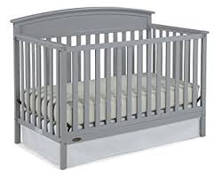 Convertible Cribs Graco Benton 5 In 1 Convertible Crib Pebble Gray Baby