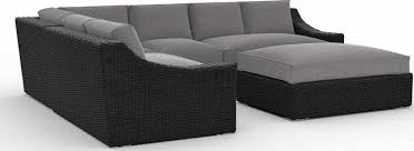 patio sectional sofa toja patio furniture bretton 5 piece outdoor sectional sofa set