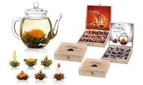 tea gift sets flowering tea gift sets groupon