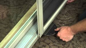 Removing A Patio Door How To Remove And Reinstall A Screen On A Vinyl Sliding Patio Door