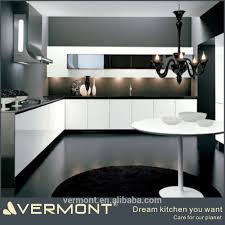 2017 customized modern cheap high gloss paint kitchen cabinet