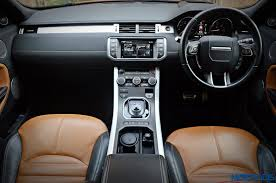 range rover sport dashboard range rover evoque 2 2 diesel review bling thing motoroids