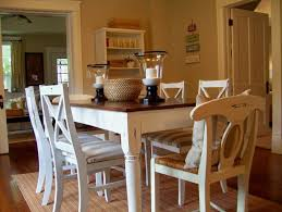 dining room table white kitchen table and chairs distressed