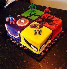 harry u0027s 6th birthday cake boys birthday cake marvel superhero