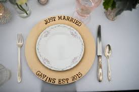 personalized dinner plate wedding wednesday diy woodburned plates