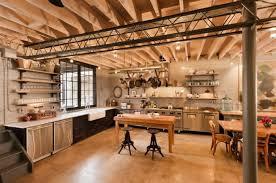 cuisine industrielle loft cuisine industrielle l élégance brute en 82 photos exceptionnelles