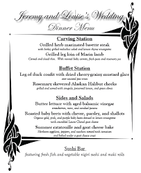 Buffet Menu For Wedding by The 5 Things That Made My Paleo Gluten Free Wedding A Success