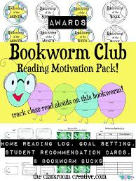bookworm club a system to motivate students to read more