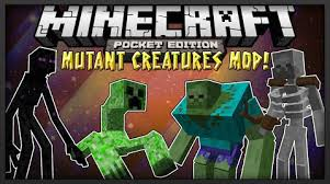 minecraft pocket edition mod apk mutant creatures mod for mcpe 0 9 5 0 9 0 file minecraft