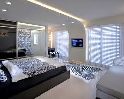 Bedroom With Tv Home Interior With Contemporary Ceiling Ideas So Unique Walls