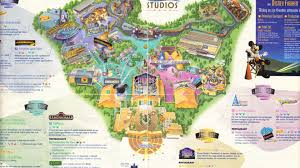 Universal Orlando Park Map by Walt Disney Studios Park Thrillz The Ultimate Theme Park