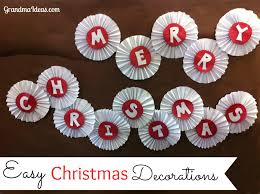 easy decorations to make with grandchildren ideas