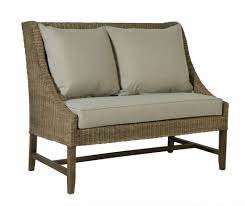 loveseat milo baughman low back bench sofa or loveseat 1 small